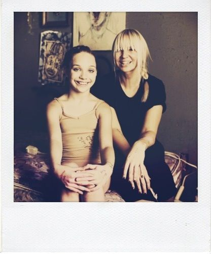 Behind the Scenes | Maddie Ziegler in Sia's Chandelier ...  |Maddie Ziegler Chandelier Behind The Scenes