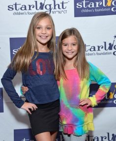 "Photos of Maddie Ziegler and Mackenzie Ziegler Photos: Fan of ""Dance Moms"" Meet and greet for the benefit of the Starlight Children & # 39; s Foundation"