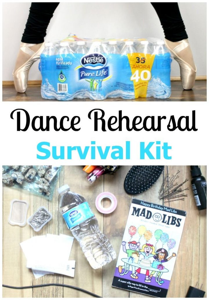 Dance rehearsal survival kit: what to pack