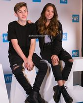 Johnny Orlando and Mackenzie Ziegler at WE Day