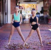 Holiday dance photo session for Oh La La Dancewear b …