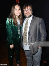 Maddie Ziegler and host Jack Black attend the 30th place of My Friend's Place …